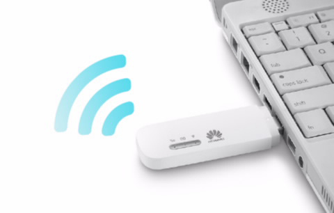 Подключение Huawei E8372 к USB порту компьютера