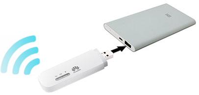 Подключение Huawei E8372 к Power Bank